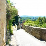 Fun, narrow descent from Limeuil