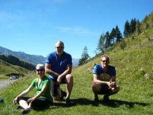 Me, John, Bill at Peyresourde