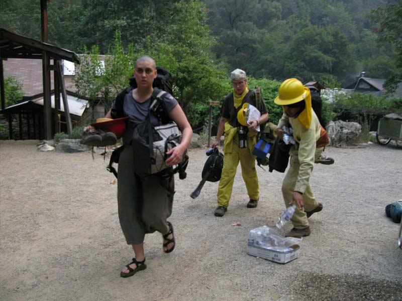 final evacuation